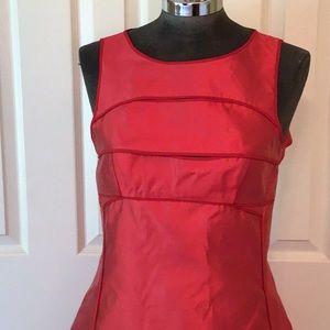 Narcisco Rodriguez lipstick red dress size 4